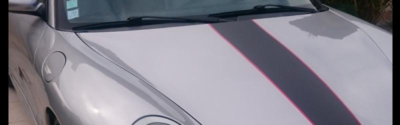 Customisation Porsche Boxster 2.7 Covering Bandes - Wrapcover Artec