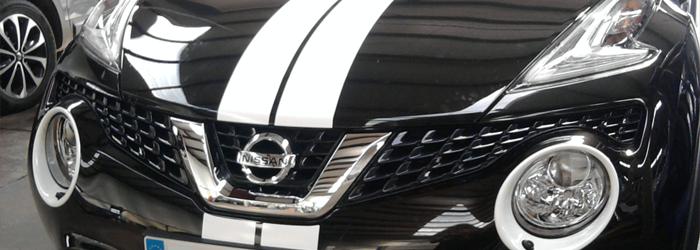 Customisation Nissan Juke Kit Bandes - Wrapcover Artec