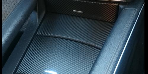Customisation des intérieurs Mercedes ML V8 en Fibre de Carbone - Wrapcover Artec
